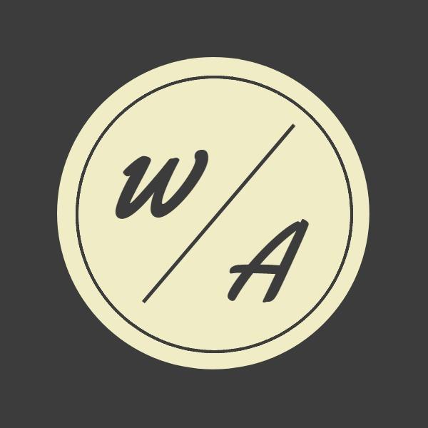 时尚饰品圆形简约logo