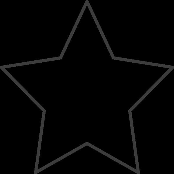 五角星五角形五星星星框边框