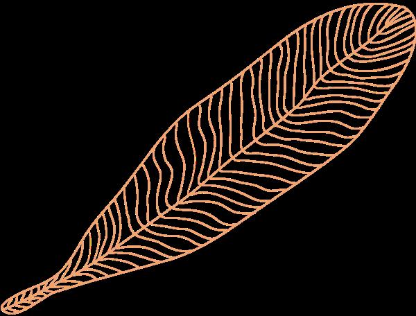 树叶叶子叶片植物树木贴纸素材