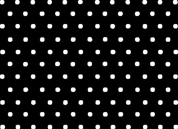 点点排列白色交叉排列贴纸素材