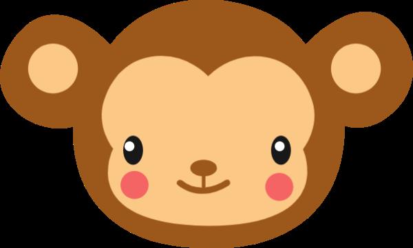 猴子贴纸素材_猴子矢量图_猴子贴纸大全_fotor懒设计