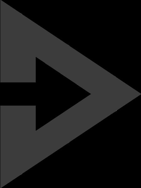 指示箭头右箭头向右三角形箭头贴纸素材