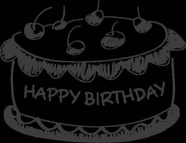 蛋糕生日蛋糕生日庆祝聚会贴纸素材