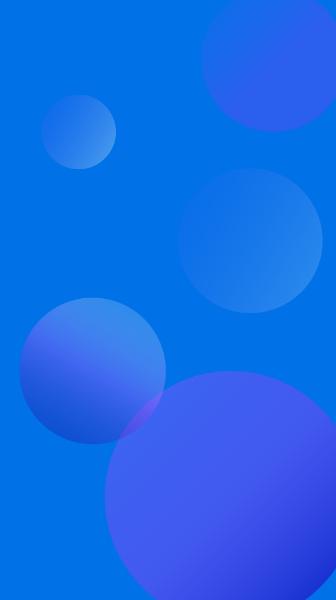 背景渐变蓝色科技感现代感贴纸素材