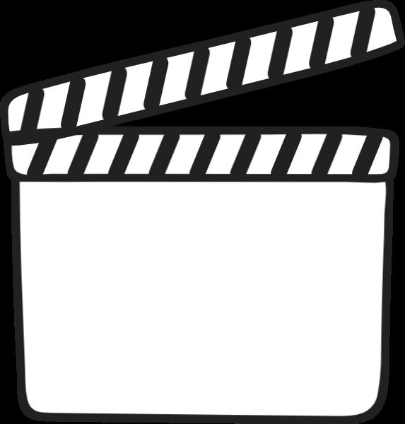 场记板制片打板拍摄电影影视贴纸素材