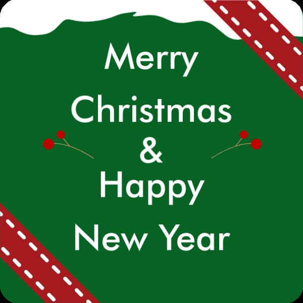 节日圣诞节新年圣诞青果贴纸素材