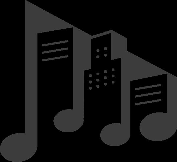 音符音乐节日生日符号贴纸素材