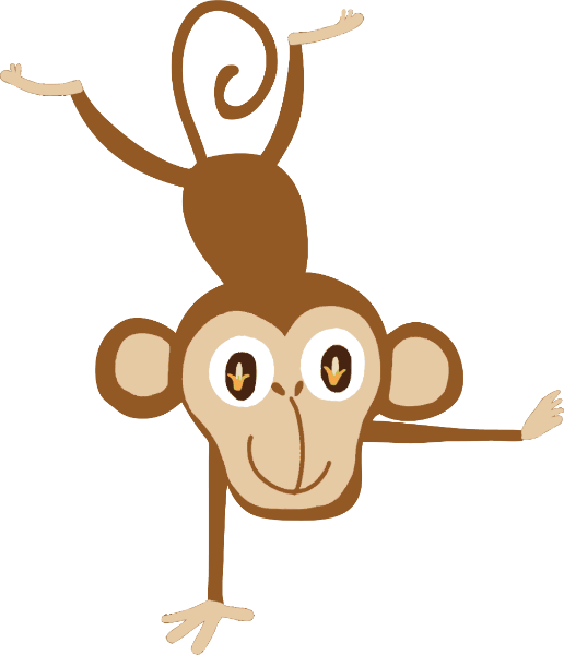 猴子调皮运动动物可爱
