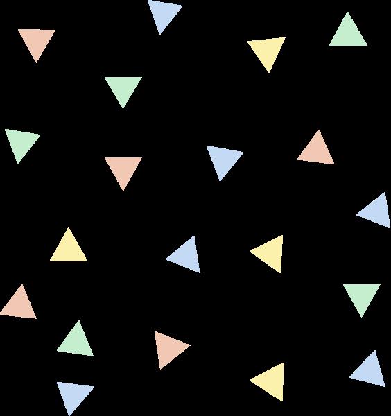 背景花纹三角形装饰元素小元素装饰贴纸素材