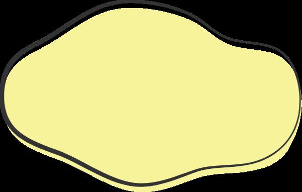 对话框边框框按钮缎带贴纸素材