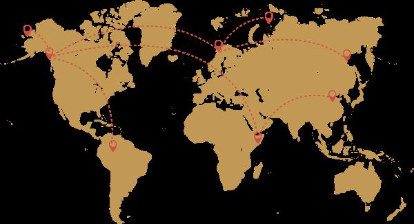 地图版图世界路线旅游