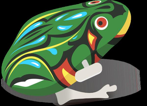 青蛙青蛙跳玩具回忆90后贴纸素材
