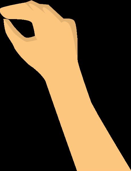 手手势手指人动作贴纸素材
