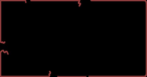 线框框排列装饰长方形边框贴纸素材
