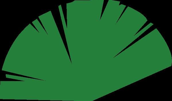 芭蕉叶植物绿植养护氧气贴纸素材