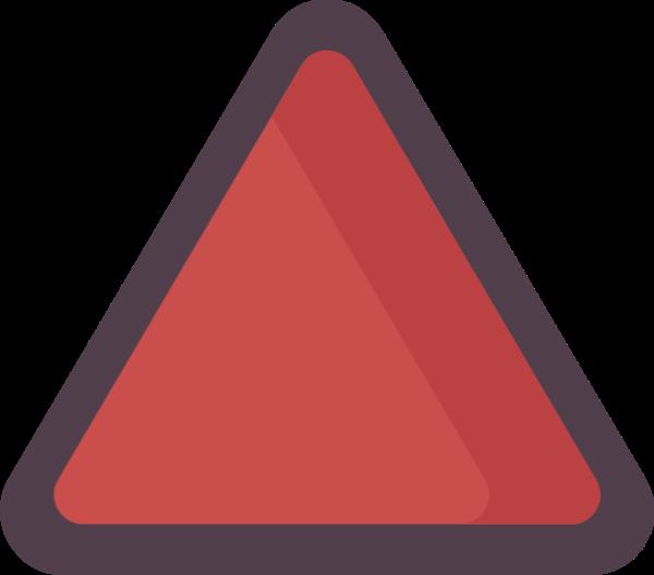 三角形几何体三角形长方形装饰贴纸素材