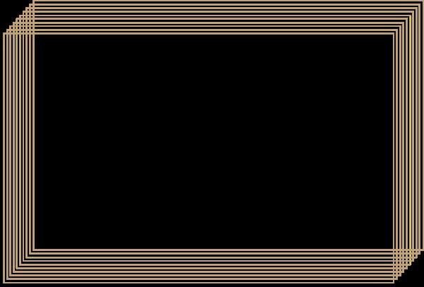 框边框对话框渐变长方形边框贴纸素材