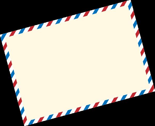 框卡片信纸花边写信贴纸素材