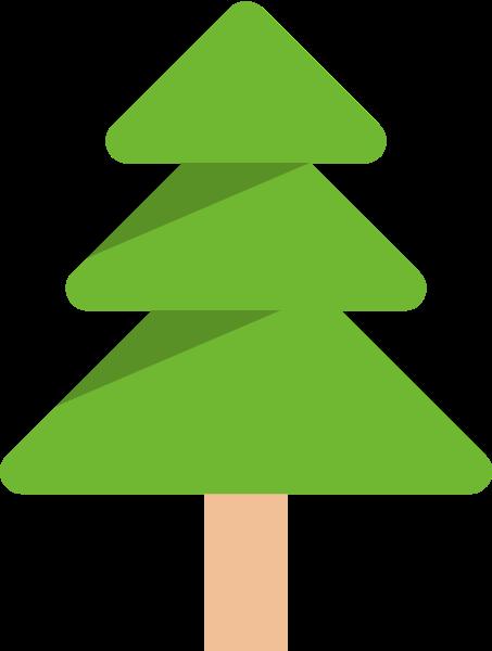 树大树树木植物绿树贴纸素材