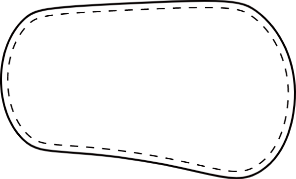 文本框线框框背景边框贴纸素材