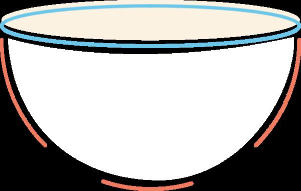 碗厨具餐具图标装饰贴纸素材