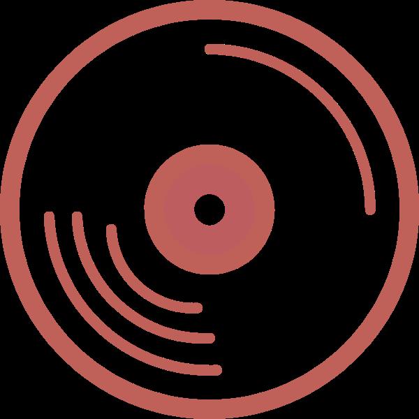 cd光盘唱片光碟音乐贴纸素材
