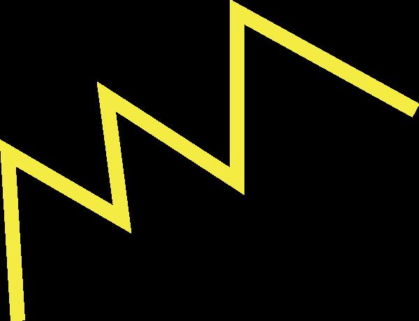 装饰元素折线矢量线条线段贴纸素材