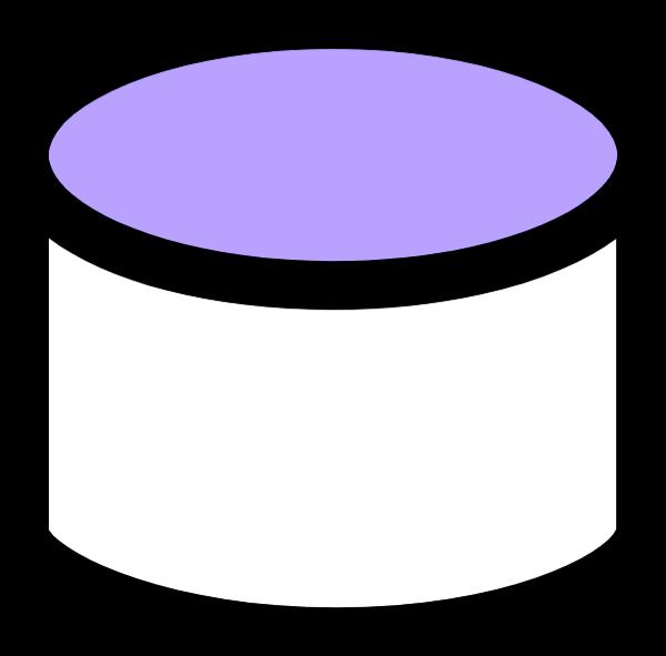 圆柱盒子装饰元素矢量几何体三角形贴纸素材