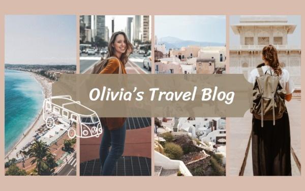 旅游旅行视频博主视频封面