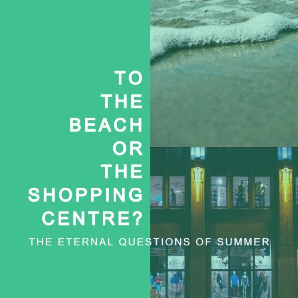 绿色拼接夏季主题海报