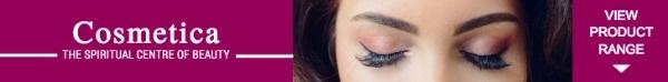紫色化妆品广告