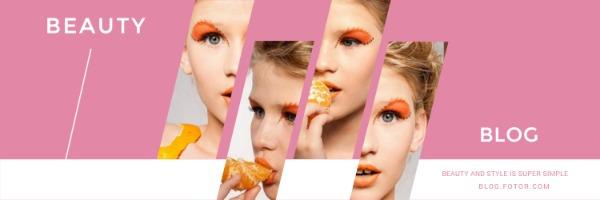 粉色时尚主题封面