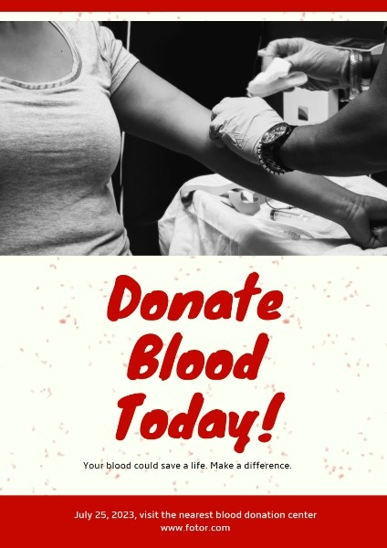 Simple Blood Donation Day
