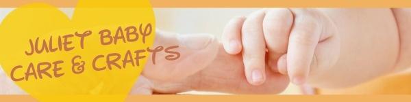 黄色简约婴儿护理商店封面图