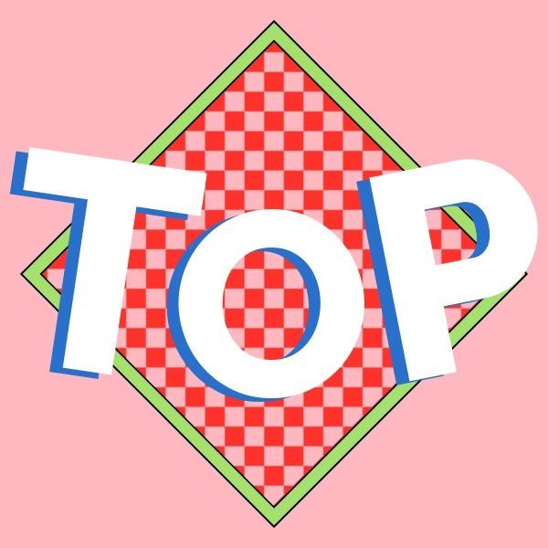 粉色排行榜榜单top榜公众号封面小图模板