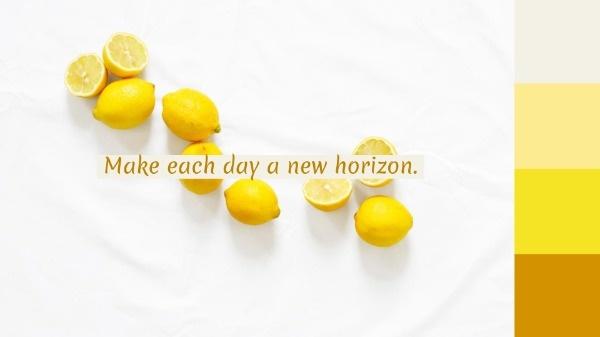 White And Yellow Lemon