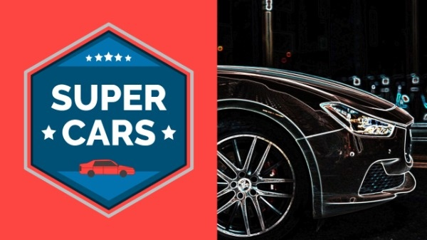 Super Cars Youtube Channel Banner