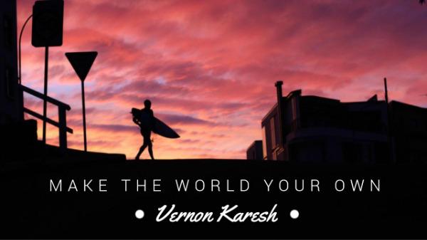 成为你自己的世界