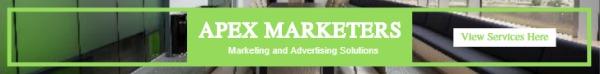 绿色方框广告