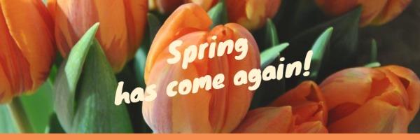 春季再次来临