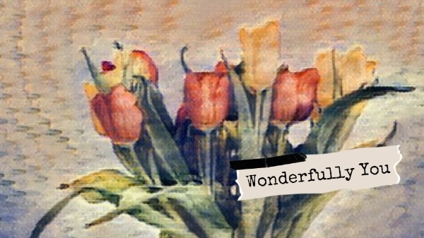 Aesthetic Flower Mobile Background