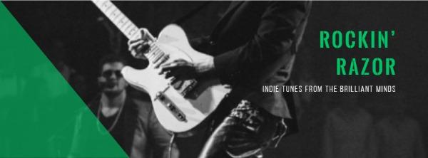 黑色音乐主题封面