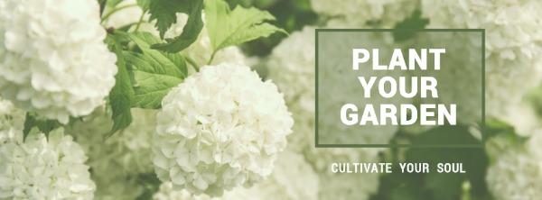 绿色花卉主题封面