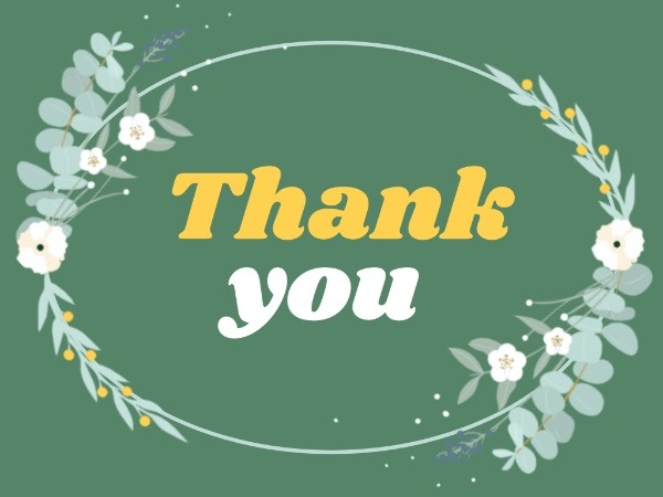 thank you card maker create custom photo cards online  fotor