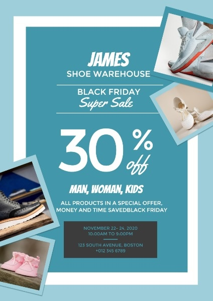 Black Friday Shoe Big Sale