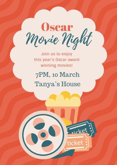 Red Oscar Movie Night