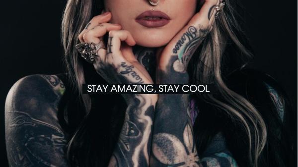 时尚潮流纹身