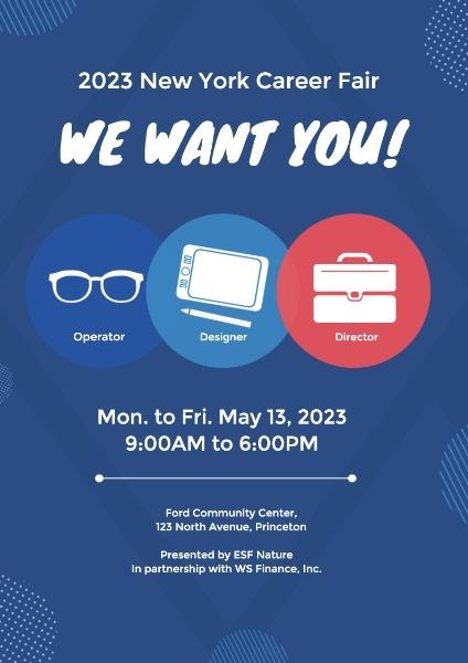 工作招聘会我们需要你