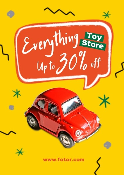 Yellow Toy Store Discount