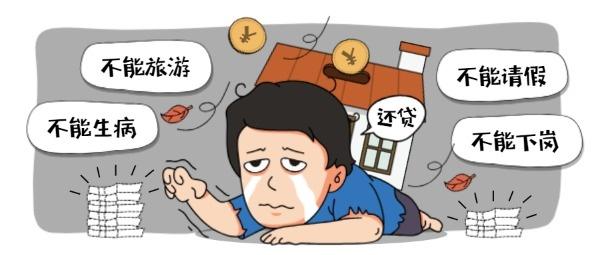 房贷压力大